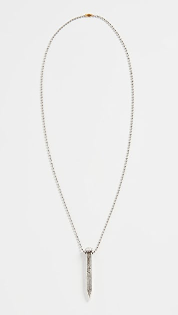 Giles & Brother Railroad Spike Necklace