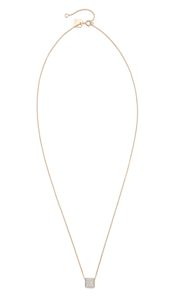 ginette_ny 18k Gold Baby Diamond Ever Necklace