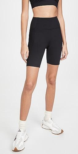 Girlfriend Collective - 高腰机车短裤