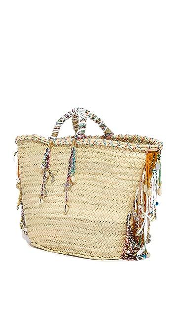 Giselle Объемная сумка с короткими ручками Alessia