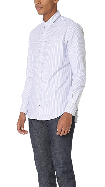 Gitman Vintage Striped Oxford Shirt