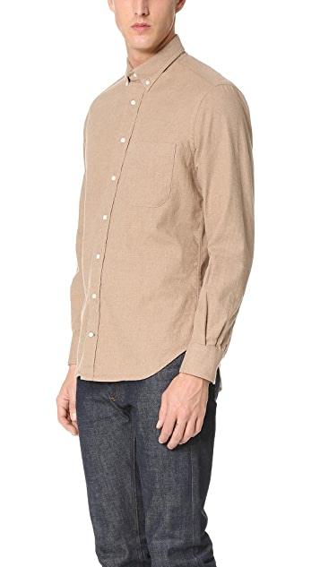 Gitman Vintage Button Down Flannel Shirt