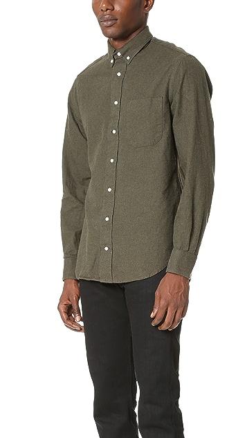 Gitman Vintage Button Down Flannel Shirt