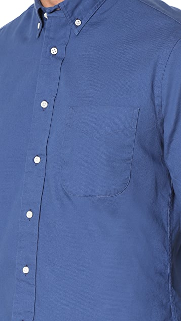 Gitman Vintage Button Down Overdye Oxford Shirt