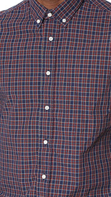 Gitman Vintage Archive Mini Tartan Shirt