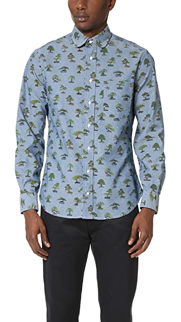 Gitman Vintage Bonzai Trees Shirt