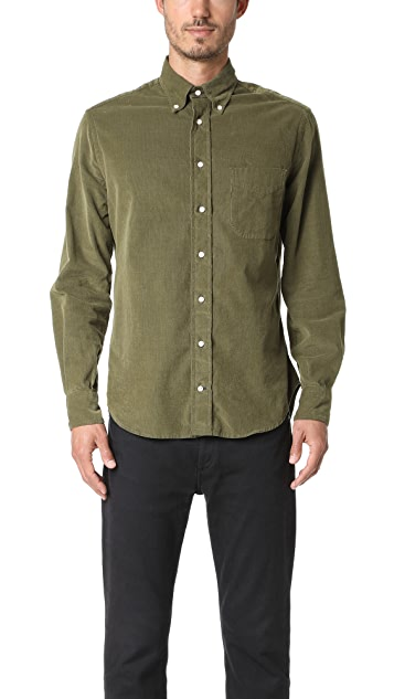 Gitman Vintage Long Sleeve Corduroy Shirt