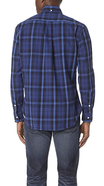 Gitman Vintage Long Sleeve Plaid Flannel Shirt