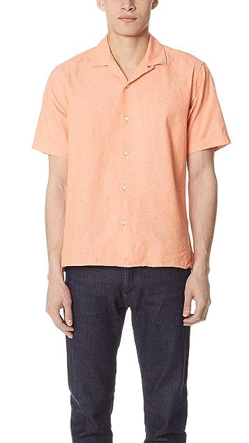 Gitman Vintage Chambray Shirt with Short Sleeves