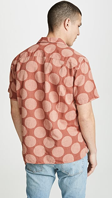 Gitman Vintage BD Big Dot Shirt - Camp Collar