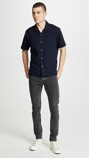 Gitman Vintage Camp Collar Button Down Shirt