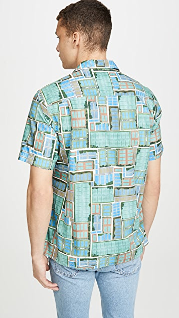 Gitman Vintage Tennis Court Button Down Shirt