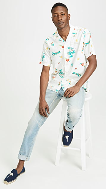Surf and Turf Button Down Shirt