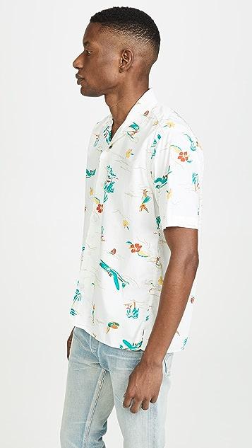 Gitman Vintage Surf and Turf Button Down Shirt