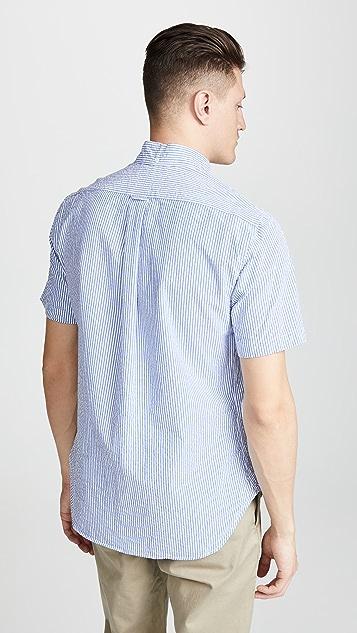 Gitman Vintage BD Seersucker Stripe Shirt