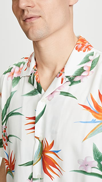 Gitman Vintage Flower Button Down Shirt