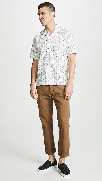 Gitman Vintage BD Fish Tackle Shirt - Camp Collar