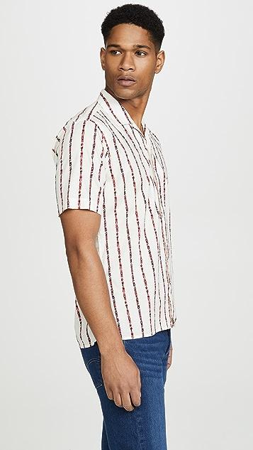 Gitman Vintage Button Down Nautical Flag Shirt
