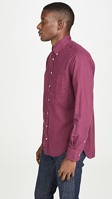 Gitman Vintage Classic Flannel Button Down Shirt