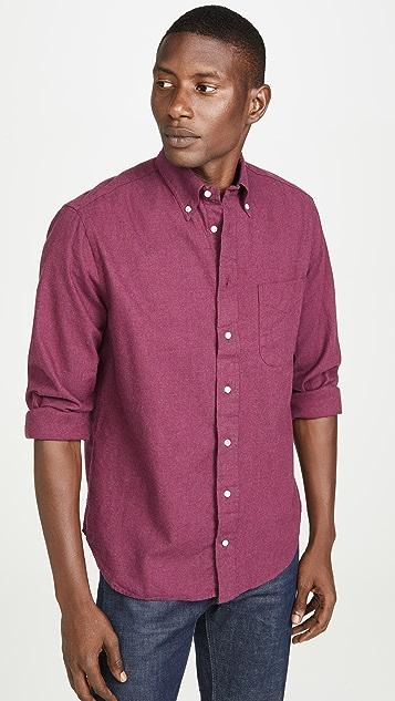 Gitman Vintage Classic Flannel Button Down Shirt