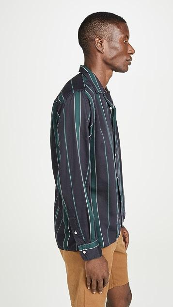 Gitman Vintage Sateen Regimental Stripe Shirt
