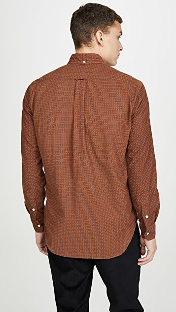 Gitman Vintage Italian Printed Corduroy Button Down Shirt