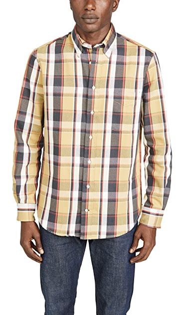 Gitman Vintage Oxford Plaid Button Down Shirt