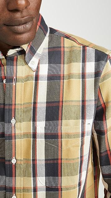 Gitman Vintage Oxford Plaid Button Down Shirt