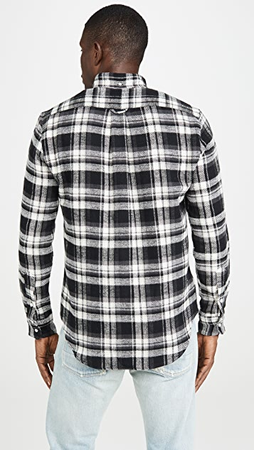 Gitman Vintage Colorado Brushed Triple Yarn Flannel Shirt