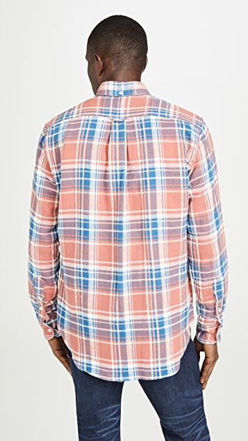 Gitman Vintage California Brushed Triple Yarn Flannel Shirt