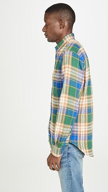 Gitman Vintage Oregon Brushed Triple Yarn Flannel Shirt
