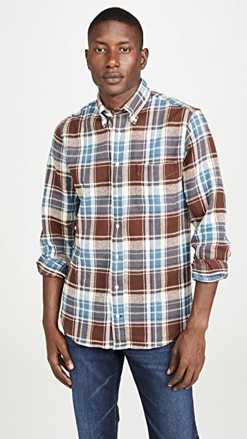 Gitman Vintage Washington Brushed Triple Yarn Flannel Shirt