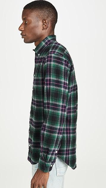Gitman Vintage Shaggy Brushed Oxford Button Down Shirt