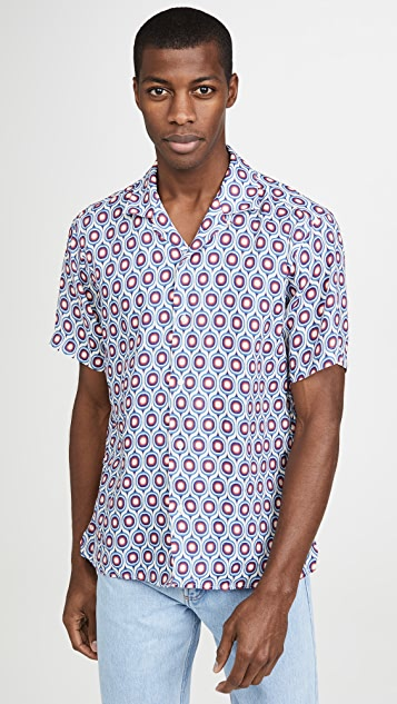 Gitman Vintage Gio Ponti Deco Shirt