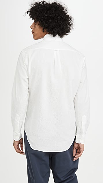 Gitman Vintage Seersucker Long Sleeve Shirt