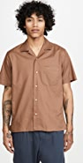 Gitman Vintage Summer Hopsack Short Sleeve Shirt