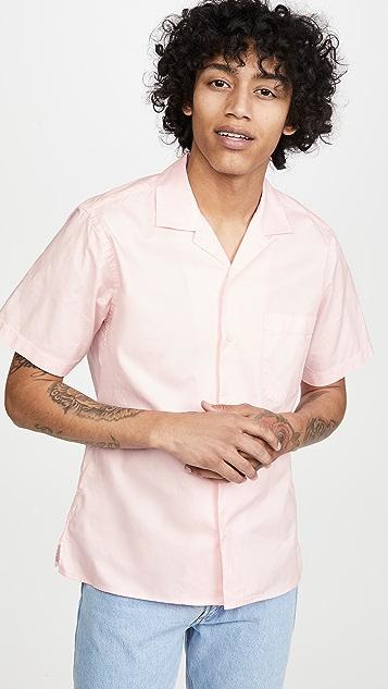 Gitman Vintage Summer Hopsack Short Sleeve Shirt