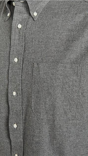 Gitman Vintage Brushed Flannel Button Down Shirt