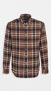 Gitman Vintage Heavy Flannel Country Plaid Shirt