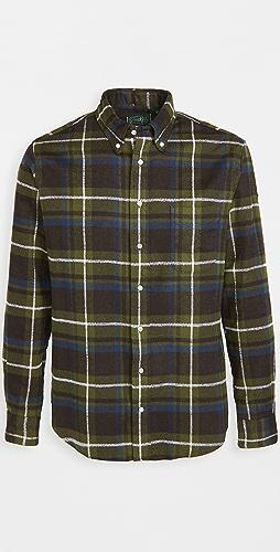 Gitman Vintage - Heavy Flannel Rough Check Shirt