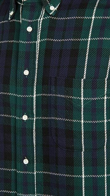 Gitman Vintage Triple Yarn Blackwatch Flannel Shirt