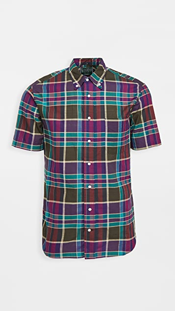 Gitman Vintage Archive Madras Short Sleeve Shirt
