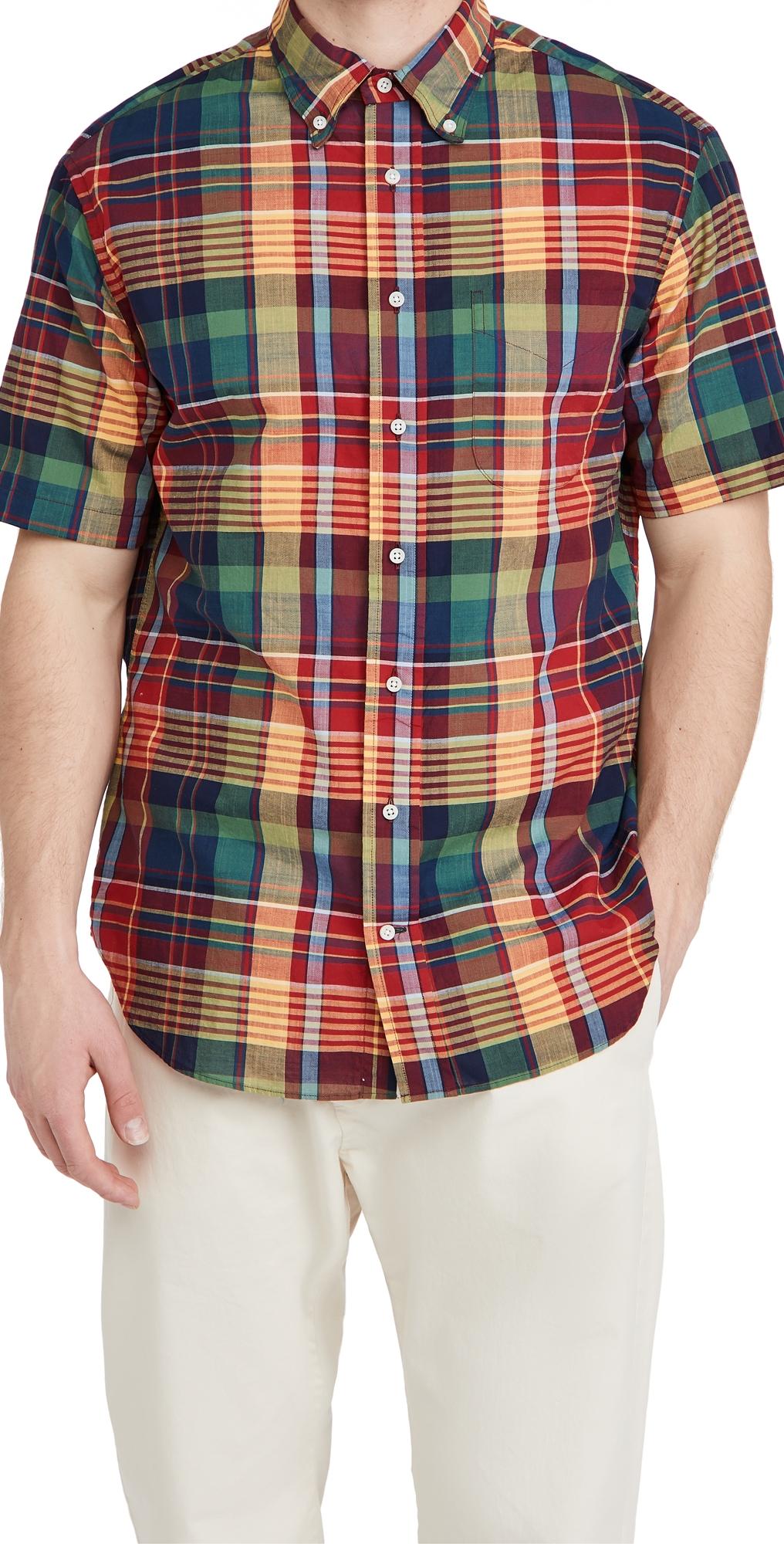 Archive Madras Short Sleeve Shirt