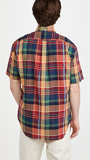 Gitman Vintage Archive Madras Short Sleeve Shirt