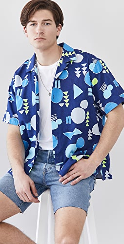 Gitman Vintage - Abstract Camp Shirt