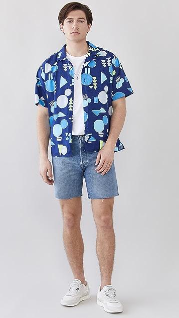 Gitman Vintage Abstract Camp Shirt