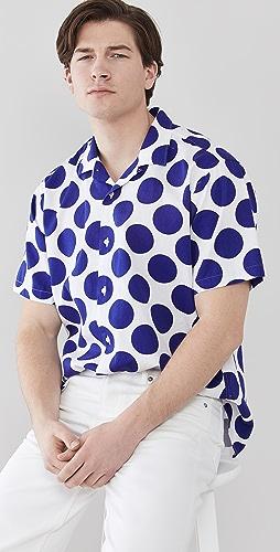 Gitman Vintage - Big Dots Camp Shirt