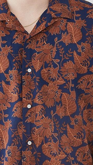 Gitman Vintage Floral Voile Camp Shirt