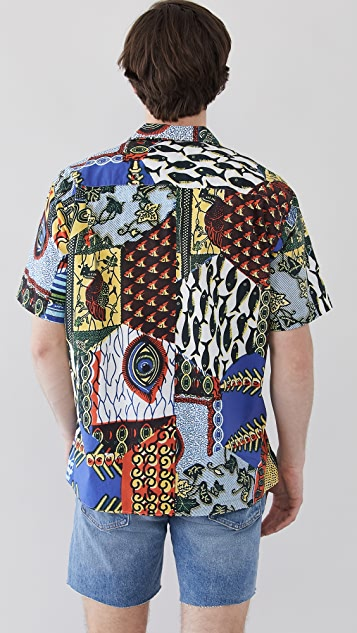 Gitman Vintage Fish Eye Camp Shirt