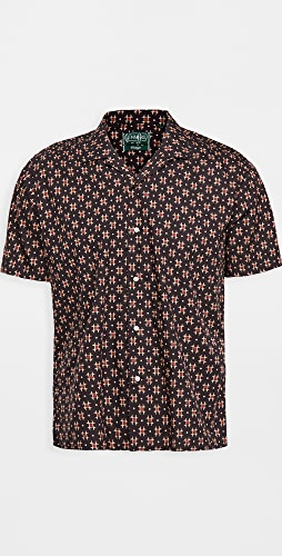 Gitman Vintage - Window Batik Block Print Camp Shirt